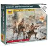 Zvezda Romanian Infantry figura makett Zvezda 6163