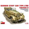 MiniArt GERMAN CAR TYPE 170V Cabriolet B autó makett MiniArt 35107