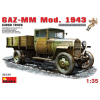 MiniArt GAZ-MM.Mod. 1943. Cargo Truck katonai jármű makett Miniart 35134