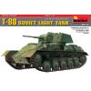 MiniArt SOVIET LIGHT TANK T-80. SPECIAL EDITION tank makett MiniArt 35117