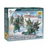 Zvezda German Infantry (winter uniform) figura makett Zvezda 6198