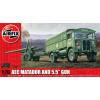 """AIRFIX AEC Matador and 5.5"""" Gun makett Airfix A01314"""