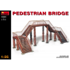MiniArt PEDESTRIAN BRIDGE épület dioráma makett Miniart 35522
