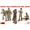 MiniArt SOVIET SELF-PROPELLED GUN CREW figura makett Miniart 35037
