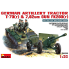 MiniArt GERMAN ARTILLERY TRACTOR T-70(r) AND 7,62cm FK 288(r) w_CREW tank harcjármű makett Miniart 35039