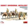 MiniArt Soviet Divisional Artillery figura makett Miniart 35045