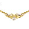 Vésett bicolor arany nyakék