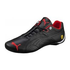 Puma Future Cat Leather Sportcipő, Fekete, 41