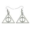Harry Potter és a halál ereklyéi stílusú fülbevaló