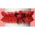 Polis Legényfogó combfix gyűrű szívvel piros