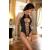 Beauty Night Gisele fekete fűzős erotikus női body L/XL