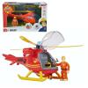 Simba Sam, a tűzoltó - Tom figura helikopterrel - Simba