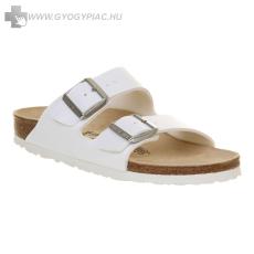 Birkenstock papucs lábujjvédő fehér