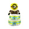Pelenkatorta Webshop Babaváró ajándék ötlet: Minion IceVillage Stuart pelenkatorta