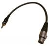 Rode SGXJ-B-0050 XLR - 3.5mm átalakító kábel (50cm) vakuszinkron kábel