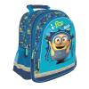 Minyon ok hátizsák, iskolatáska - ergonomikus kék