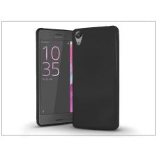 Sony Xperia X szilikon hátlap - Jelly Bright 0,3 mm - fekete tok és táska