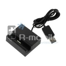 Sony Xperia Z3 Compact Dokkoló Mágneses (90cm) Fekete tablet kellék
