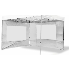 Két oldalfal PROFI kerti sátorhoz 3 x 3 m - fehér kerti bútor