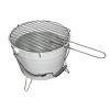 OEM Mini BBQ vödör grill - fehér