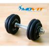 Profi egykezes súlyzó - MOVIT, 15 kg