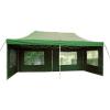 OEM Összecsukható kerti parti sátor – 3 x 6 m zöld