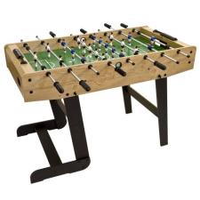 Asztali foci BELFAST 121 x 101 x 79 cm - világos fából csocsó