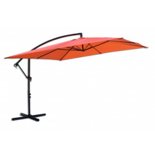 Négyzet alakú napernyő 8080, függesztett - 270 x 270 cm, terrakotta kerti bútor
