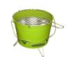 Mini BBQ vödör grill - zöld kerti sütés és főzés