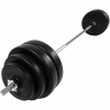 Kétkezes súlyzó készlet, 60.5 kg - MOVIT