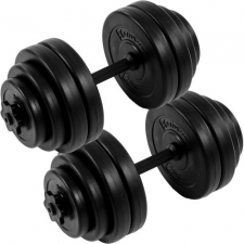 Egykezes súlyzó szett - MOVIT, 30 kg kézisúlyzó