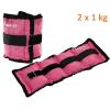 MOVIT bokasúly, 2 x 1,0 kg - rózsaszín