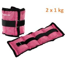 MOVIT bokasúly, 2 x 1,0 kg - rózsaszín súlytárcsa