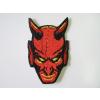 Hímzett Ördög fej