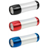 Dörr Torpedo zseblámpa 9 LED-del, piros