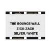 Sunbounce Bounce-Wall A4/8x11 inch-es derítőlap, cikcakk ezüst/fehér