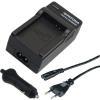 PATONA Akkumulátor töltõ Panasonic Battery BM7 Lumix CGA-S002E +car-Akkumulátor töltõ