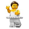 LEGO Minifigura 15. sorozat - Balerina