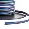 LEDvonal Színes vezeték , RGBW LED szalaghoz , 5 eres (fekete/fehér/kék/piros/zöld)