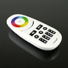 LEDvonal RGB és RGBW távirányító , Dimmer , 4 csoport (zóna) , group control , fekete gombok