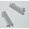 LEDvonal Aluminium profil végzáró 1 pár , WALL