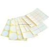 Körcímke 25mm öntapadó fehér (60 címke/csomag)
