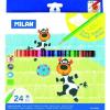 MILAN színes ceruza 24 DB-OS 211