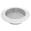 Szellőzőrács Fehér Kerek 150