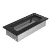 Kratki Fekete Szellőzőrács Standard 11x24