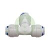 Patron bekötő csatlakozó - T elágazás - RO (Fordított ozmózis) víztisztító készülékekhez