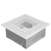 Fehér Szellőzőrács Oscar 11x11