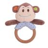 Bigjigs majmocskás fakarikás csörgőjáték