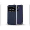 Haffner LG G5 H850 S-View Flexi oldalra nyíló flipes tok - kék