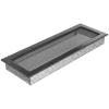 Kratki Fekete Ezüst Szellőzőrács Standard 17x49